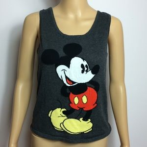 Knitted Micky Mouse Tank